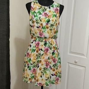 Forever 21 florals summer dress